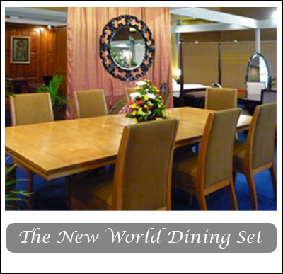 the new world dining collection
