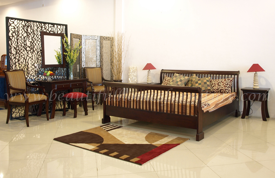 Full Rails Sleigh Bedroom Collection