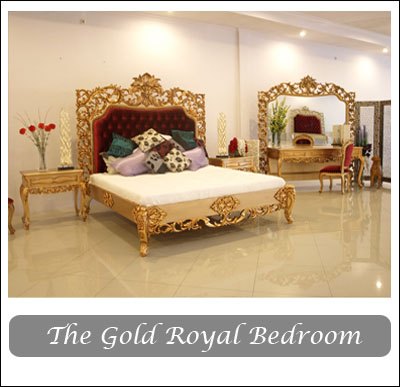 The Gold Royal Bedroom