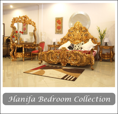 hanifa bedroom collection