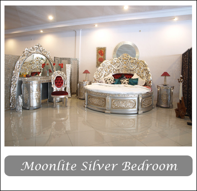 Silver Moonlite Bedroom Collection