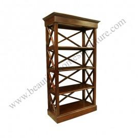 Achitype Bookcase ( criss cross )