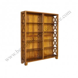 Campaign Criss cross Bookshelf