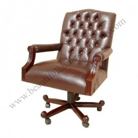Luxury swivel chair Carving
