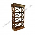 Achitype Bookcase ( criss cross )