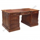 Partners Desk Small leather